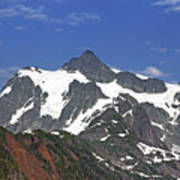 Mount Shuksan In The Cascade Mountains Poster