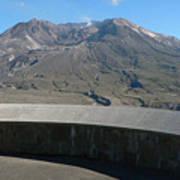 Mount St. Helen Memorial Poster