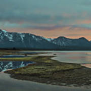 Mount Tallac At Sunset Poster