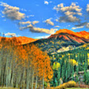 Mountain Beauty Of Fall Poster