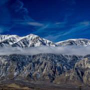 Mountain Cloud Poster