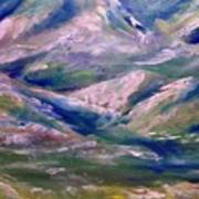 Mountain Gorge Italian Alps Poster
