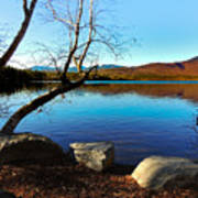 Mountain Lake Chocorua Poster