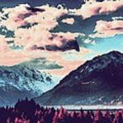 Mountain  Landscape Vista Poster