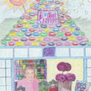 Mountain Of Jelly Beans Poster