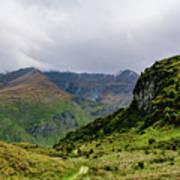 Mountain Path Horiz Poster