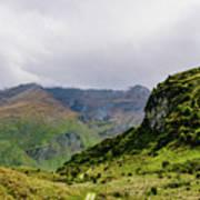 Mountain Path Vert Poster
