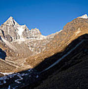 Mountain Peak, Kumuche Himal Poster