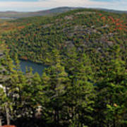 Mountain View, Acadia National Park Poster