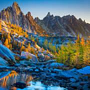 Mountainous Paradise Poster