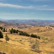 Mountainous Terrain In Central Oregon Poster
