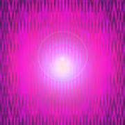 Moveonart The Power Being Pink Poster