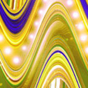 Moveonart Wave Of Enlightenment Four Poster