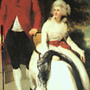 Mr And Mrs John Julius Angerstein  Poster