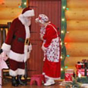 Mr And Mrs S Claus Poster
