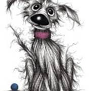 Mr Mucky Paws Poster