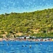 Megalo Kavouri Beach Poster