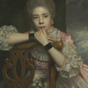 Mrs Abington As Miss Prue In Love For Love By William Congreve Poster