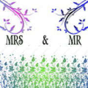 Mrs And Mr Poster
