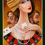 Mrs Fortune Poster by Igor Postash