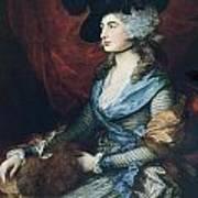 Mrs Siddons. British Actress Sarah Poster