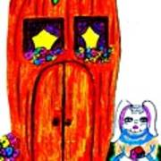 Ms. Bunny's Carrot House Poster