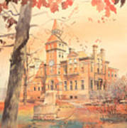 Msu Linton Hall  Poster