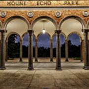 Mt Echo Pavilion Poster