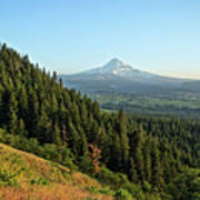 Mt Hood In The Distance Poster