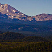 Mt Lassen And Chaos Crags Poster