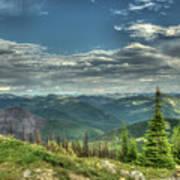 Mt. Marston Scenic View Poster
