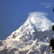 Mt. Mckinley From 60 Miles Away Poster
