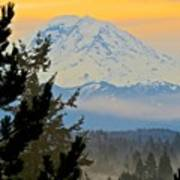 Mt. Rainier #1 Poster