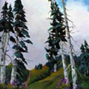 Mt. Rainier 3 Poster