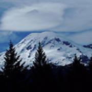 Mt Rainier Poster