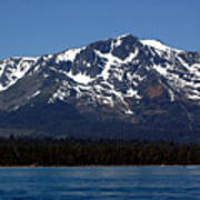 Mt Tallac Poster