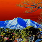 Mt Tamalpais From Another World Poster