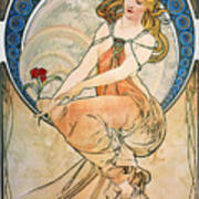 Mucha: Poster, 1898 Poster