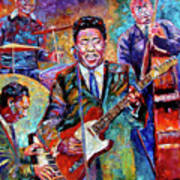Muddy Waters And His Band Poster