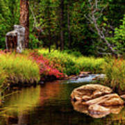 Murdock Basin Autumn Poster