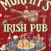 Murphy's Irish Pub - Sonoma California - 5d19290 Poster by Wingsdomain Art and Photography