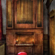 Music - Organist - What A Big Organ You Have  Poster
