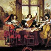 Music, 17th Century Poster