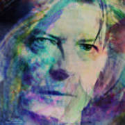 Music Icons - David Bowie Ill Poster