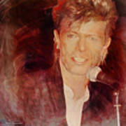 Music Icons - David Bowie Iv Poster