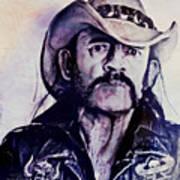 Music Icons - Lemmy Kilmister Iv Poster