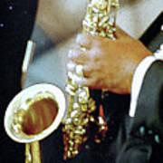 Music Man Saxophone 1 Poster