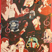 Musicians and Peter Poster
