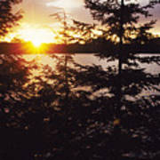 Muskoka Lake Of Bays Sunrise Poster