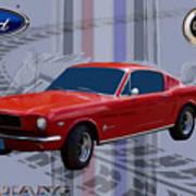 Mustang Poster Poster